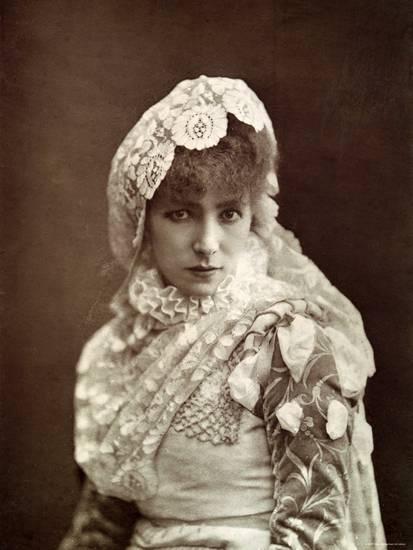 A atriz Sarah Bernhardt e o Brasil.
