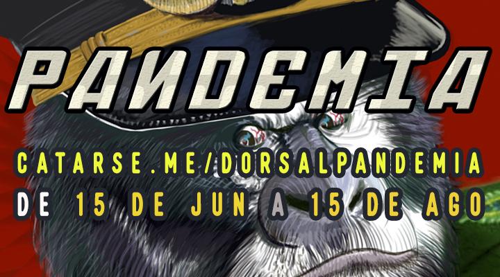 Campanha de 15 de junho a 15 de agosto para CD LP Pandemia da Dorsal Atlântica e Revista Tupinambah 2.